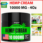 Hemp Cream Pain 10000MG Relief Recover Arthritis Muscle Strain Stiff Joint Pain $34.86 USD on eBay