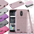For LG Stylo 5 Hybrid Bling Glitter Rubber Silicone Protective Hard Case Cover $7.59 USD on eBay