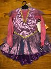 Hyde and Eek Girls Purple Trapeze Artist Costume, Circus Performer, New <br/> Multiple Sizes Small 4-6X, Medium 7-8