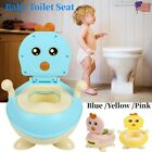 Kids Baby Potty Training Seat Toddler Lovely Toilet Seat Stool Chair Portable image