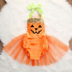 US Halloween Baby Girl Clothes Party Costume Bodysuit Ruffles Cute Fancy Outfit