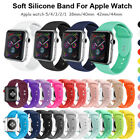 38/40mm,42/44mm Soft Sports Silicone iWatch Band Strap For Apple Watch 1/2/3/4/5 image
