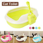 3D09 Plastic Cat Toilet Cleaning Shatter-Resistant Durable Litter Box