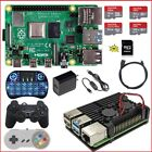 Raspberry Pi 4 Model B (4G, 2G, 1G) Diy Kit  & Aluminum Alloy Enclosure Dual Fan