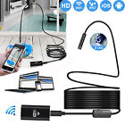 8 LED Wireless Endoscope WiFi Borescope Inspection Camera For Samsung Cell Phone