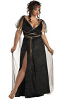 Womens Medusa Costume Plus Size Halloween Roman Toga Renaissance Fancy Dress