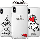 Genuine Keith Haring Jelly Hard Case Galaxy S8/Galaxy S8 Plus made in Korea