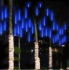 LED Meteor Shower Falling Star Rain Drop Icicle Snow Indoor Outdoor String Light