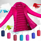Packable Lightweight Women's 90 Duck Down Jacket Outerwear Winter Coat Puffer