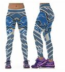 Detroit Lions S/M-L/XL (4-16) Women's Normal Quality Leggings Football #20 $15.95 USD on eBay