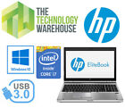"Hp Elitebook 8470p Laptop 14"" Hd Notebook + I7 Cpu + 240gb Ssd + Windows 10 Pro"