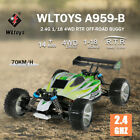 WLtoys A959-B 1/18 4WD 70KM/H RC Coche RC Off Road Truck Alta Velocidad RTR P9O9
