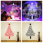 Christmas Tree Mural Removable Wall Sticker Art Vinyl Xmas Home Party Decoration