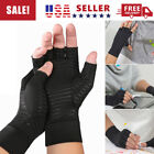 1 Pair Copper Fit Arthritis Compression Gloves Hand Support Joint Pain Relief US