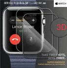 Apple Watch Series 6 SE 5 4 Full Cover 3D Tempered Glass Curved Screen Protector