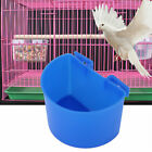 10pcs Parrot Food Water Bowl Cups Bird Pigeons Cage Sand Cup Feeding Feeder ABS