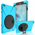 Shockproof Heavy Duty Rubber With Hard Stand Case Cover For iPad Mini 1 2 3 4