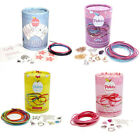 Jewellery Making Kit Friendship Bracelet Charms Unicorn Heart Girls Kids Gift