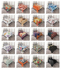 Bedspread Set with 2 Shams Decorative by Ambesonne Printed 3 Piece image