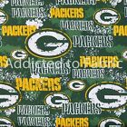 Green Bay Packers Distressed Fabric by the Yard or Half Yard, NFL Cotton Fabric $9.5 USD on eBay