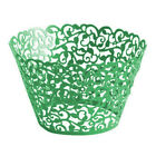 100PCS Filigree Vine Cupcake Wrappers Liners Weddings Lace Birthdays Party Xmas