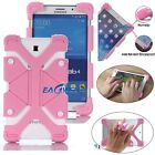 Kids Safe Flexible Shockproof Stand Silicone Case Cover For PC 10 Inch Tablet