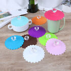 1pc Silicone Anti-dust Glass Diamond Cup lid Cover Coffee Mug Suction Lid ZD günstig