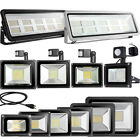 LED Flood Light 10W 20W 30W 50W 100W 200W 300W 500W-1000W,US Plug,PIR Sensor,12V