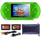 """8GB 4.3"""" Handheld PSP Game Console Player Built-in 1000 Games Portable Consoles <br/> UK STOCK *2 FREE CARTRIDGE *FREE POUCH *16 BIT"""