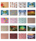 Ambesonne Colorful Pattern Mousepad Rectangle Non-Slip Rubber