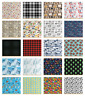 Fabric by The Yard for Upholstery and Decorative Home Accents by Ambesonne