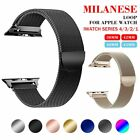 Magnetic Milanese Watch Band iWatch Strap For Apple Watch Sport Series 5 4 3 2 1 image