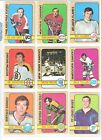1972-73 Topps Hockey Single Cards $1.00 USD on eBay