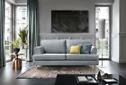 Harper 2,3 Seater Sofa, Cuddle & Armchair in Light Grey Water Repellent Fabric