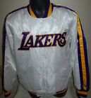 LOS ANGELES LAKERS Starter Snap Down Jacket 3X 5X   Special Edition: WHITE on eBay