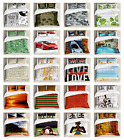 Pillow Shams Bedding Set with Duvet Cover Set King Queen Twin Sizes by Ambesonne