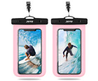 Universal Waterproof Cellphone Dry Bag Pouch for iPhone 11 Pro Max Xs ..2 Pack
