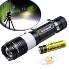 Garberiel 90000 Lumens T6 LED USB Rechargeable 18650 Flashlight Torch Zoom Lamp