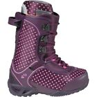 $239 32 Womens Vela Snowboard Boot Sz 7 ThirtyTwo Purple Dot Ultimate Fit Liner