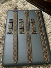 Louis Vuitton Apple Watch Band Leather iWatch Double Strap 38/40/42/44mm 1/2/3/4 image