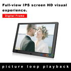 """Digital Photo Frame Electronic Album Picture 10"""" Screen Movie Music Player"""