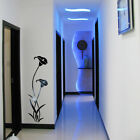 Decal Stickers Kitchen Wall Decor Acrylic Mirror Room Indoor Flower Backdrop