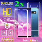 Hydrogel Full Coverage Screen Protector Samsung Galaxy S8 S9 S10 Plus 10e Note10