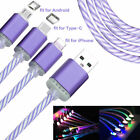 RGB Glow Light-Up LED USB Data Sync Charger Cable Charging Cord Line Portable