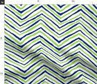 Flourescent Green Fluorescent Seattle Seahawks Fabric Printed by Spoonflower BTY $28.75 USD on eBay