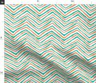 Miami Dolphins Florida Teal And Orange Aqua Fabric Printed by Spoonflower BTY $20.5 USD on eBay