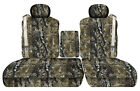 car seat covers camo woods front 40-60 seats w/ISB fits Ford F150 01-2003