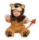 Baby Infant Toddler Little Lion Fuzzy One Piece Casual Dress Up Costume Jumpsuit