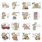 Happy Lovely Bears Clear Stamp for DIY Scrapbooking Paper Cards Crafts Silicone
