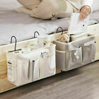 Bed Bedside Storage Organiser Holder Tidy Hook Pocket Shelf Bunks Cabin Chair UK